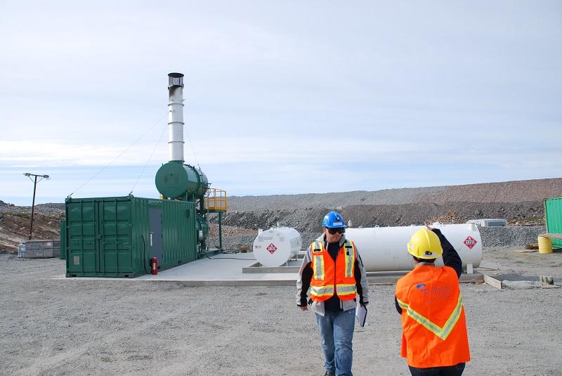 environmental analyst mine site tour snap lake environmental